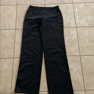 ZELLA BLACK YOGA PANTS SIZE 6 NEW